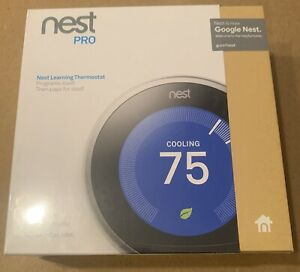 Nest Pro 3rd Gen Learning Stainless Steel Programmable Thermostat T3008US NEW