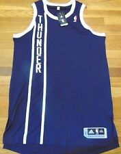 ADIDAS NBA REVOLUTION 30 OKLAHOMA CITY THUNDER ALT AUTHENTIC BLANK JERSEY 2XL+2
