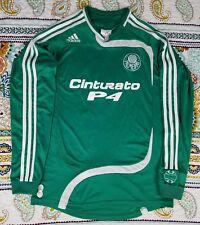 Adidas Palmeiras Brazil Soccer Futbol Jersey Mens Sz M Long Sleeve 2007 Game 39c6f4e1ce940