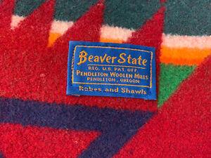 Authentic Pendleton Cedar Mountain Robe Blanket Harvest Twin