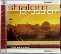Paul Wilbur Shalom Jerusalem NEW CD Recorded Live Contemporary Christian Music
