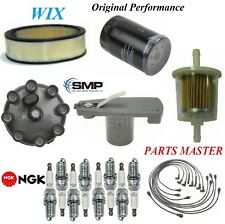 Tune Up Kit Filters Cap Spark Plugs Wire For CHRYSLER NEWPORT V8; 7.2L 1977-1978