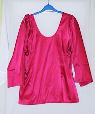 PINK LADIES TOP CUSTOM MADE COLLECTION SIZE 40 BNTW