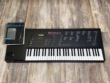 E-mu Emax II Sampler/Synth In Mint Cond Barely Used New OEM Floppy Dr Manual Cbl