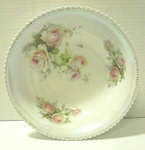 Vintage PK Silesia Porcelain Serving Bowl