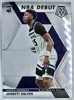 2019-20 Panini Prizm Mosaic Jarrett Culver Rookie Card RC NBA Debut Timberwolves
