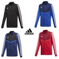 Adidas Boys Junior Kids Tiro 19 Zip Tracksuit Top Jacket Jumper Sweatshirt