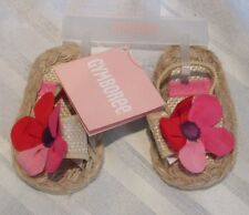 GYMBOREE INFANT BABY SANDALS TROPICAL SIZE 02 NEW WITH TAGS $21.95 SPRING