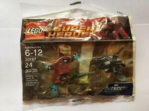 ~LEGO ~ Marvel Superheroes ~ 30167 ~ Iron Man vs Fighting Drone ~ Polybag ~NEW~
