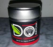 DoMatcha Green Tea Organic Ceremonial Do Matcha 1oz Tin 25 Servings Exp 09/2020