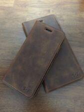 Handytasche Echt Leder Book  Case VT Für Samsung Galaxy S6 G920F