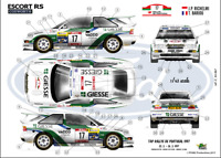 [FFSMC Productions] Decals 1/43 Ford Escord RS Cosworth WRC Richelmi Portugal 97