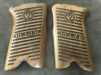 RUGER P85 P89 P90 P91 walnut wood grips set