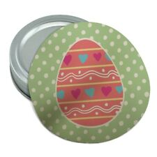 Cute Easter Egg Pink with Hearts Round Rubber Non-Slip Jar Gripper Lid Opener