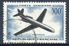 STAMP / TIMBRE FRANCE OBLITERE POSTE AERIENNE N° 36 CARAVELLE