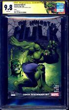 Immortal Hulk #1 TURKISH VARIANT CGC SS 9.8 signed Yildiray Cinar + SKETCH