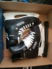 Bauer Impact 75 Ice Hockey Skates Tuuk Steel Blades Shoe Sz Us 8.5R New