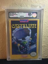 Castelian (Nintendo NES) - NEW SEALED H-SEAM, MINT SILVER VGA 85!