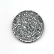 Canada 1942 50 cents silver  XF
