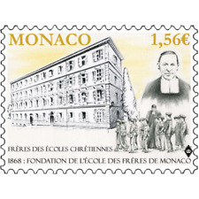 monaco 2018 Brothers Christian Schools Ecoles Chretiennes Frère Thionis 1v mnh
