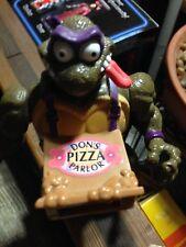 Tmnt Mini Mutant Hun and Triceraton & Pizza Don Playmates 1997 3 items.