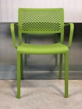 BRAND NEW: LIME GREEN/ FUNKY DESIGNER/ DIE CUT PLASTIC/OFFICE/HOME CHAIR