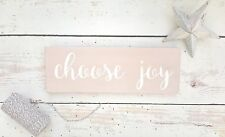 Hand Painted Quote Wooden Sign Plaque Wall Hanging New Home Housewarming Gift