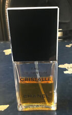 Chanel Cristalle Eau De Parfum Spray 50 Ml  Edp Half Used