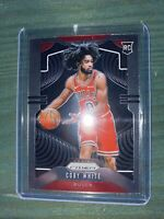 2019-20 Panini Prizm Coby White Base Rookie RC #253 Chicago Bulls