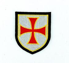 Patch patches biker cross crusader shield tactical templar badge army ref1 seal