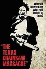 THE TEXAS CHAINSAW MASSACRE MOVIE SCORE POSTER 24x36 NEW FAST FREE SHIPPING