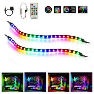 5050 Led Strip Light Kit RGB Gaming Addressable ARGB for Mid Tower PC Case Gamer
