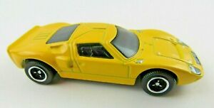 2014 Matchbox Yellow Ford GT 40 Diecast Metal Toy Car Loose MINT