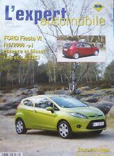 FORD FIESTA VI 6 depuis 2008 essence diesel REVUE TECHNIQUE RTA EXPERT N°488