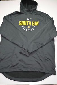 New Nike NBA South Bay Lakers Gray Player Issued Hoodie Size 3XLT