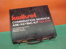 New listing Kwikset Combination Service and Keying Kit No. 270