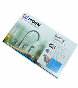 MOEN Banbury 2-Handle Kitchen Faucet with Side Sprayer NEW Spot Resist Stainless