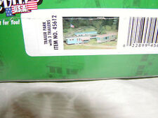 Bachmann 45612 Plasticville Kit Trailer Park with 3 Trailers O 027 MIB New Kit