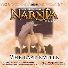 BBC AUDIOBOOK - The Last Battle The Chronicles of Narnia - 3 CD - UK Post Free