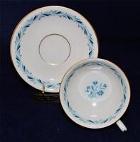 Lenox BLUERIDGE Blue Ridge P316, Cup & Saucer Set