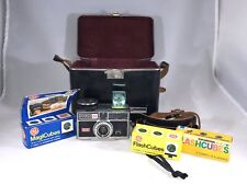 Vintage Kodak Instamatic 404 WITH EXTRAS! SAME DAY SHIPPING (C3)