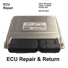 Audi ECM ECU Engine Computer Repair & Return Audi Bosch ECM Repair All Years