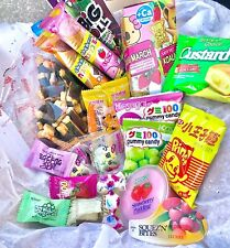 ASIAN SNACK BOX 10 pcs (Japanese, Korean, Chinese, Candy, Gummy and Snacks)