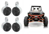 "(4) Rockville 5.25"" Rollbar Tower Speakers for Polaris/JEEP/ATV/UTV/RZR/CART"