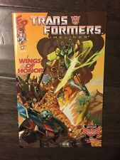 TRANSFORMERS TIMELINES #4, 2009 NM/MT  WINGS OF HONOR BOTCON CONVENTION EDITION