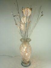 Stehleuchte aus Alu-Drahtgeflecht Jolanda 5 flg Dekoration Lampe Blumenleuchte