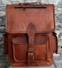 Women's Genuine Real Leather Handmade Crossbody Shoulder Satchel Messenger Bag