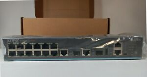 New! Juniper EX2200-C 12-Port Gigabit PoE+ Managed Switch EX2200-C-12P-2G [ORI]