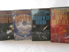 Rendezvous with (Rama)  #1-4: Books by Arthur C. Clarke (Complete Series Set)