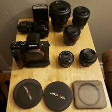 Sony a7ii with lenses and accessories